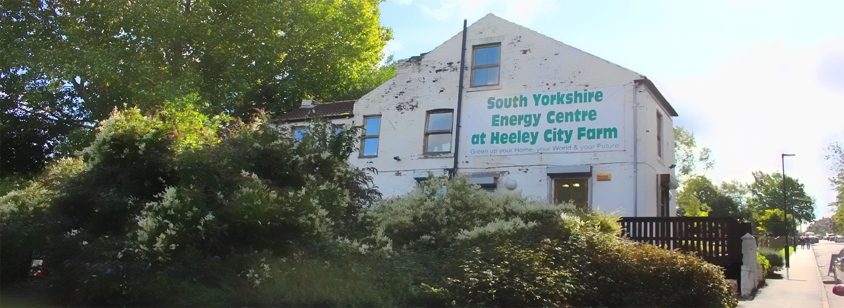 South Yorkshire Energy Centre in Sheffield (at the Heeley City Farm)